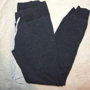 Rue 21 XS Dark Grey Low-Rise Sweat Pants